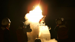 Cruise Missile Launches Off USS San Jacinto