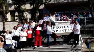 protesta spontan iasi