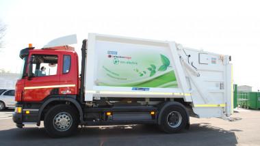 masina electrica gunoi Oradea