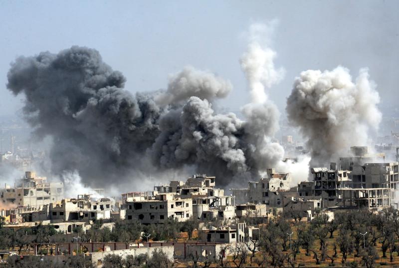 Douma, Siria, atac chimic