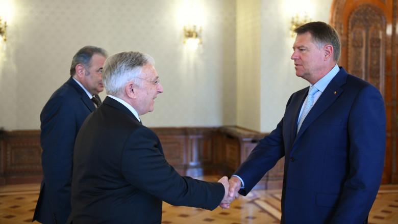 Iohannis Isarescu Georgescu presidency.ro