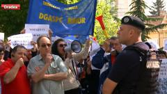 protest DGASPC Bihor