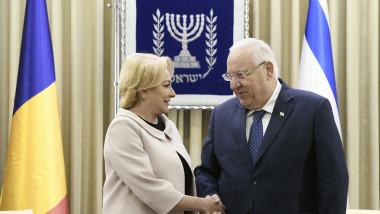 dancila presedintele israel reuven rivlin - gov
