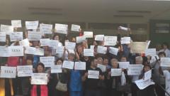 protest spitalul municipal Oradea
