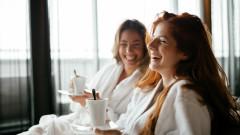 spa relaxare sauna cafea prietenie