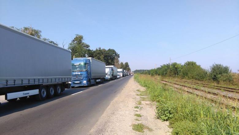 Trafic blocat, protest TIR, centura Bucuresti_digivox (2)
