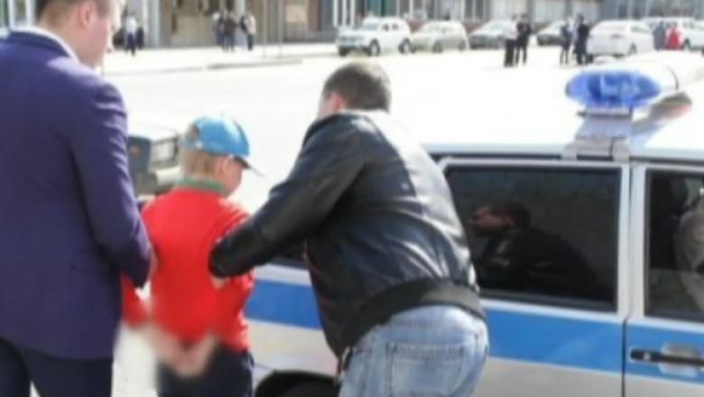 copil arestat