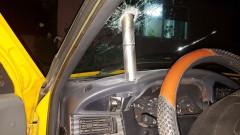 racheta in masina