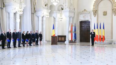 Iohannis Dancila guvern Cotroceni presidency.ro
