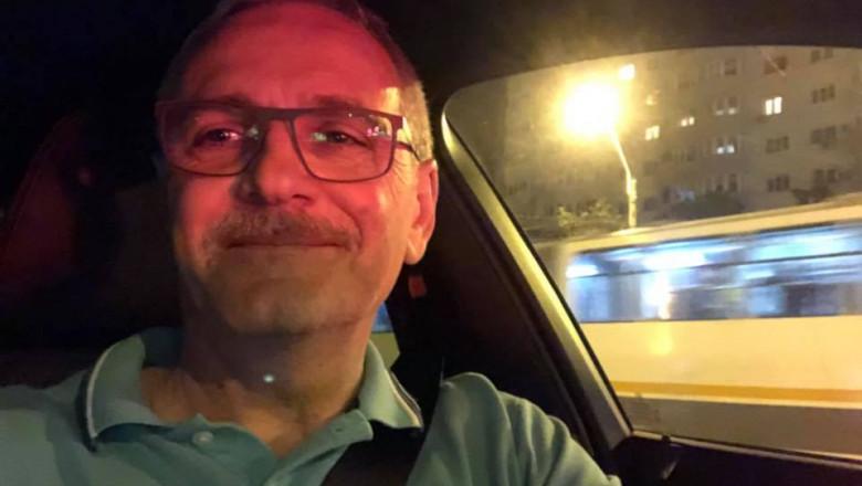 liviu dragnea selfie in masina_fb