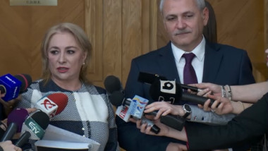 dragnea dancila parlament