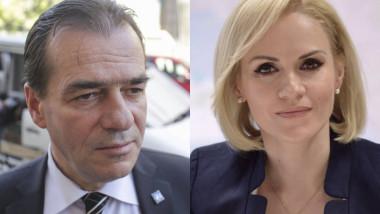 Ludovic Orban și Gabriela Firea