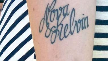 greseala nume copil tatuaj kelvin