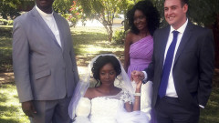 CORRECTION Zimbabwe Wedding After Crocodile Attack