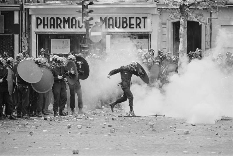 Riots in Paris, 1968