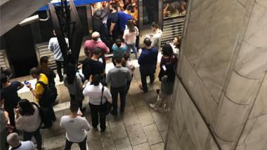 aglomeratie metrou unirii
