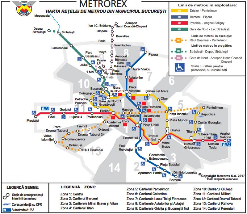 Se Circulă Cu Dificultate La Metrou După O Urgență Medicală In