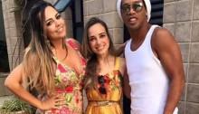 ronaldinho 2 wifes