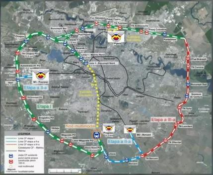 Primaria Bucureşti vrea trenuri urbane