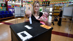 Voters Go To The Polls In Ireland's Abortion Referendum