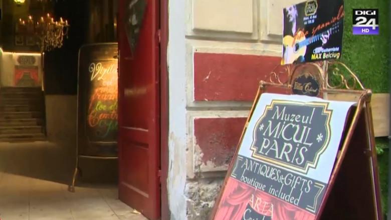 intrare muzeu micul paris