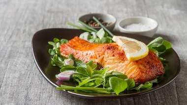 somon mancare alimente sanatoase masa dieta