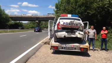 prahova masina politie lovita la o tentativa de suicid 2