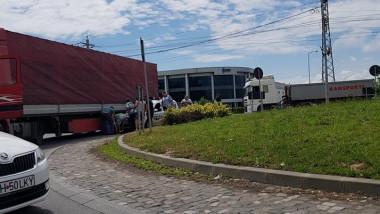 accident Borsului politist