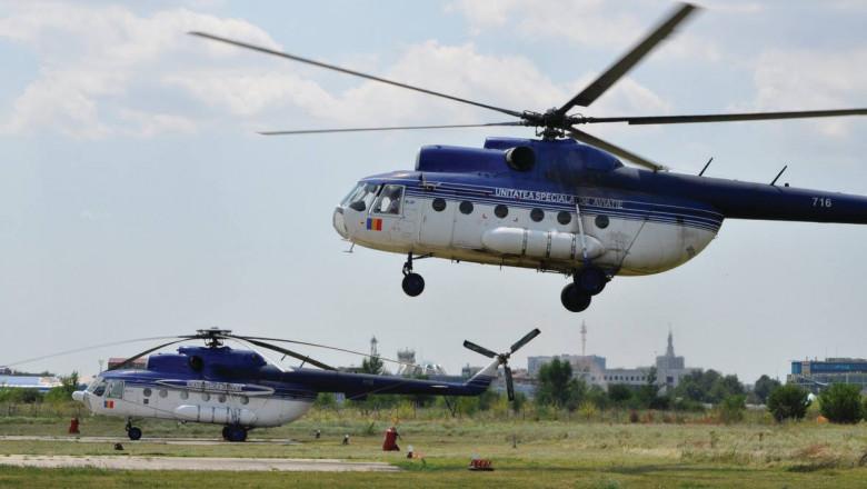 elicopter MAI FB unitatea aviatie