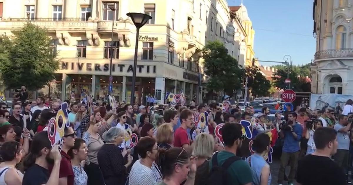 """Képtalálat a következőre: """"protest Cluj"""""""