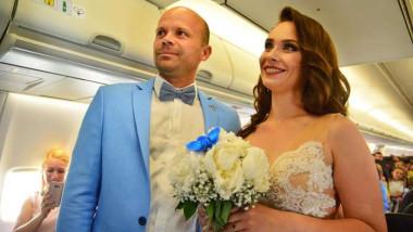 casatorie avion