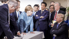 G7 Summit Trump Merkel