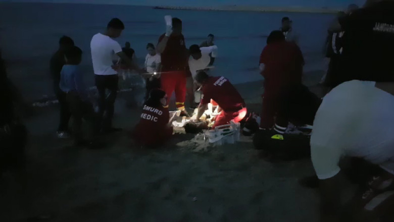 copil 7 ani inecat in mare