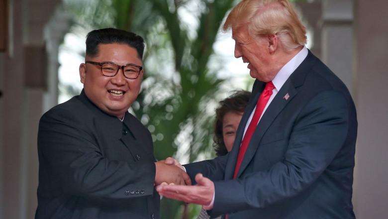 Donald Trump și Kim Jong Un