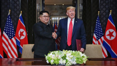 U.S. President Trump Meets North Korean Leader Kim Jong-un During Landmark Summit In Singapore