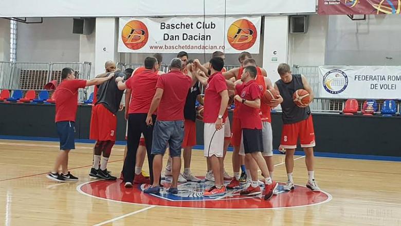 CSM Oradea antrenament