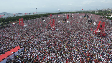 CHP Candidate Muharrem Ince Holds Final Election Rally