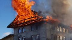 incendiu chilii manastirea rosiori suceava