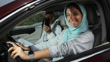 Women Begin Driving In Saudi Arabia