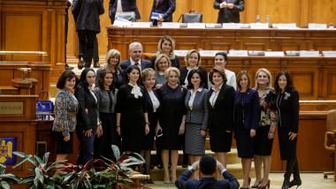 ministri femei guvernul viorica dancila si dragnea_nquam Photos George Calin