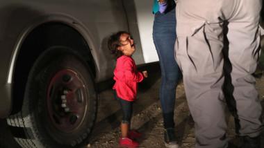 fetita sua honduras trump criza imigrantilor
