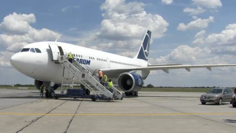 avion airbus a310 vandut de tarom