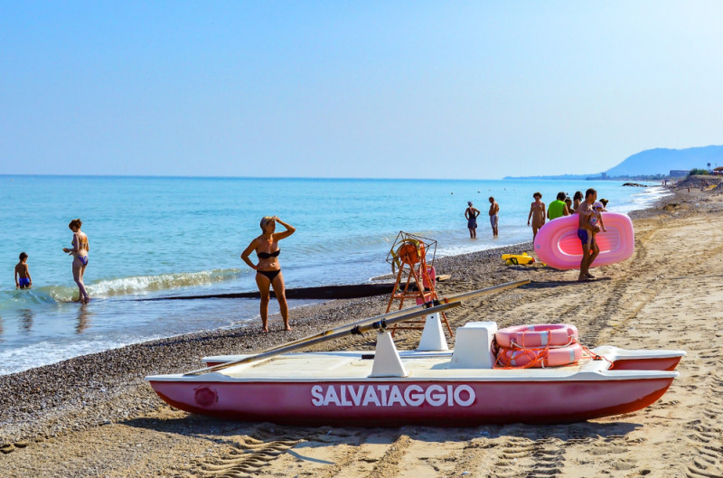 messina, italia, plaja