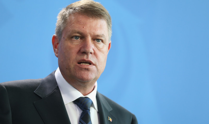 klaus iohannis getty