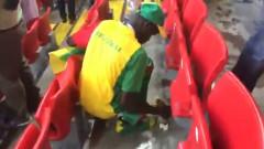 suporteri senegal fac curat pe stadion cm 2018