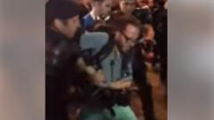 jurnalist german ridicat de jandarmi