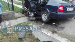 accident Politie Satu Mare