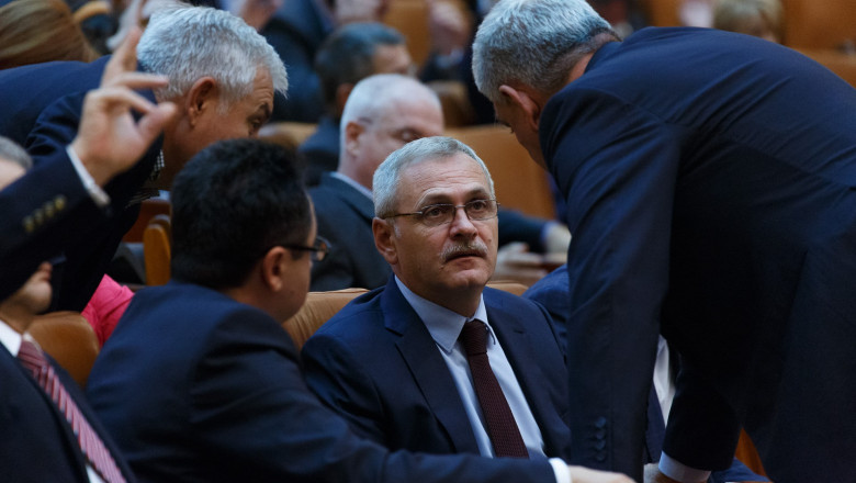 dragnea parlament fb psd