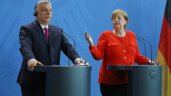 Viktor Orban Meets With Angela Merkel In Berlin