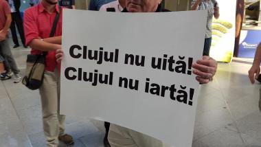 parlamentari proteste cluj FB
